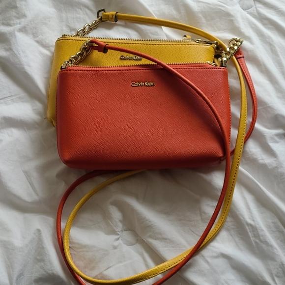 Calvin Klein crossbody purse small